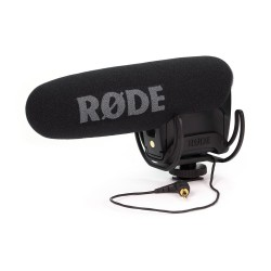 RODE VIDEOMIC PRO R - COMPACT DIRECTIONAL ON-CAMERA MICROPHONE WITH RYCOTE SHOCKMOUNT