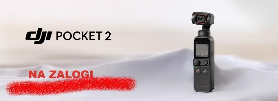 Najnovejši DJI Pocket 2 je na zalogi!