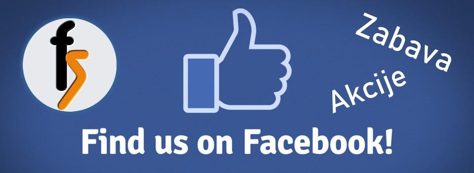 Najdi nas Facebooku