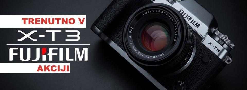 Fujifilm X-T3 akcija