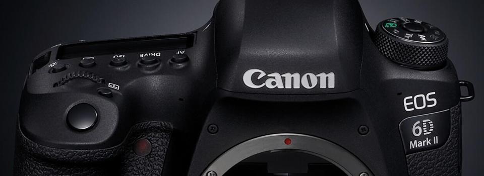 Canon EOS 6D MKII je na zalogi, klikni za ugodno ponudbo