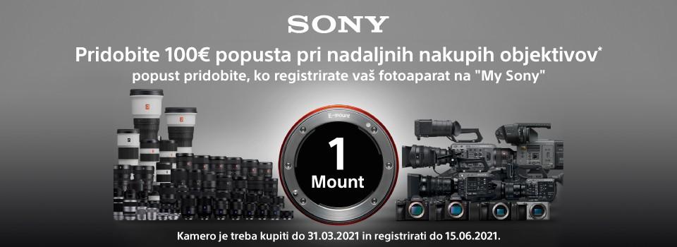 SONY lens promo