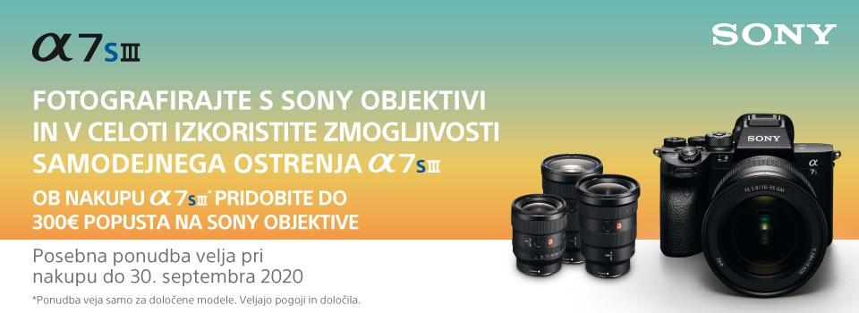 Sony 7SM3 - s prednaročilom do ugodne ponudbe
