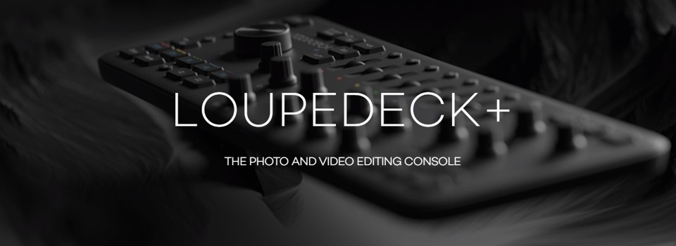 Loupedeck konzola za foto in video obdelavo