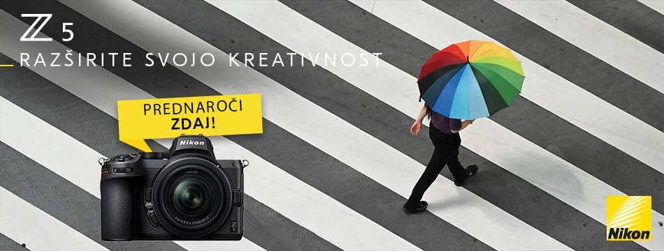 Sprejemamo prednaročila za nov Nikon Z5