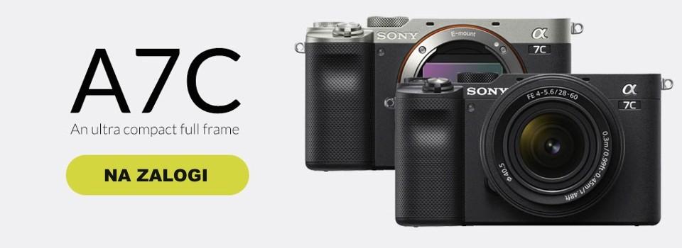 Sony a7c - že na zalogi