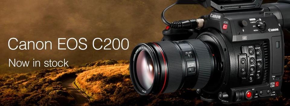 Canon C200 v akciji in na zalogi