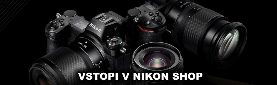 Vstopi v Nikon Shop