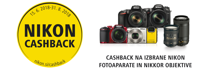 Nikon Cashback 2018