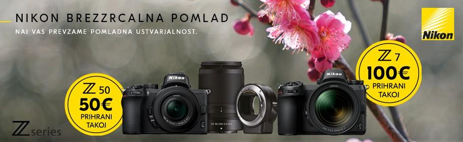 Nikon pomladna akcija
