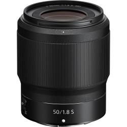 Nikon NIKKOR Z 50mm f/1.8 S objektiv