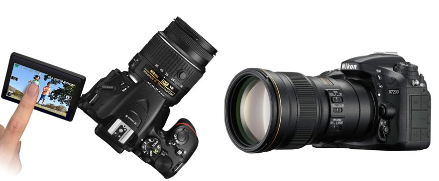 Nikon napredni fotoaparati
