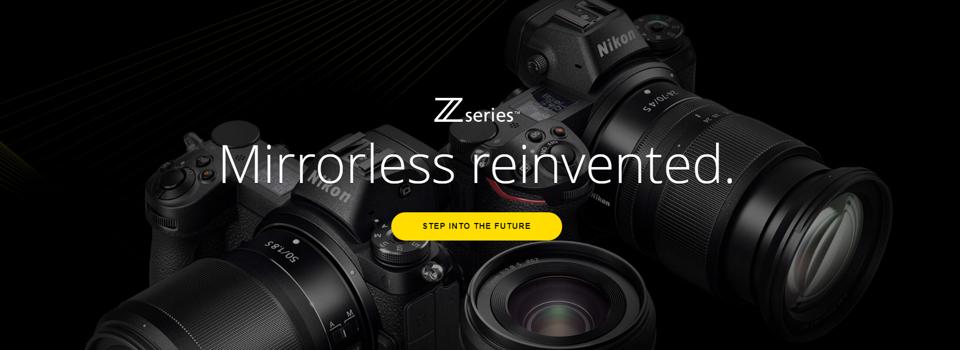 Nikon Z Z7 in Z6 brezzrcalni fotoaparati