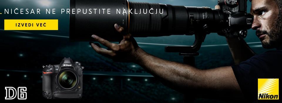 Nikon D6 cena na zalogi